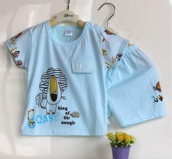 Camiseta + pantalón león azul