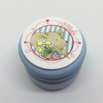 Cajita celeste raton flores