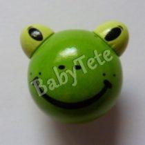 Rana verde manzana 3D