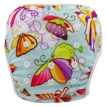 Pañal acuático mariposas