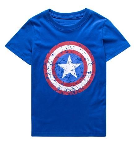 Camiseta escudo T5 azul