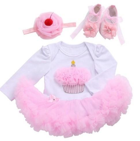 Conjunto cumpleaños cupcake