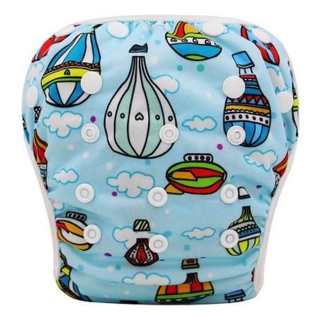 Pañal acuático globos viajeros
