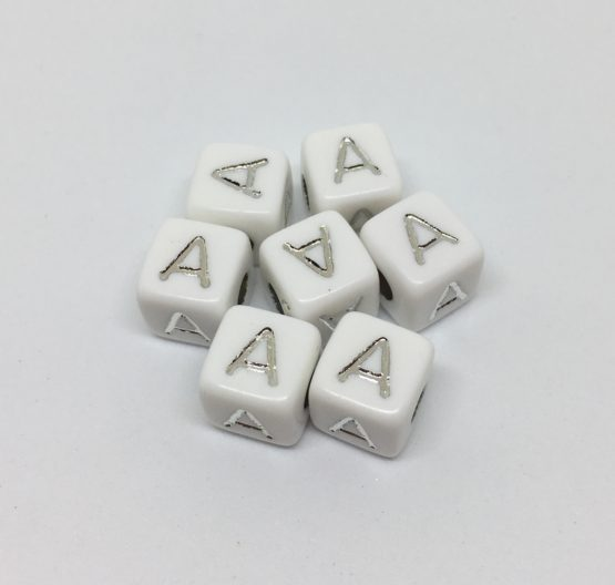 A – blanco/plata