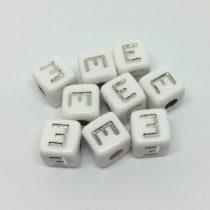 E – blanco/plata