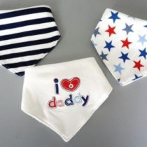 Pack 3 bandoleras I love daddy