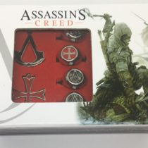 Pack anillos y colgantes Assassin's Creed