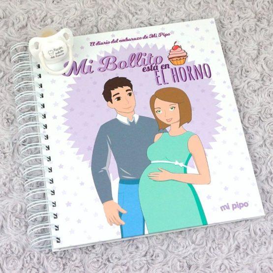 """Diario de embarazo """"Mi bollito está en el horno"""""""
