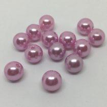 Bola 10mm acrílica rosa pálido perla
