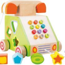 Juguete de motricidad para arrastrar Teléfono