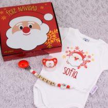 Cajita Feliz Navidad Papá Noel Personalizada
