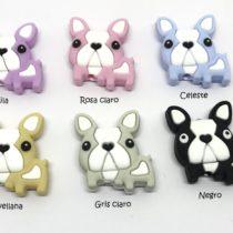 Bulldog silicona mini