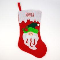 Calcetín Navidad Personalizado Papá Noel