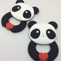 Osito panda silicona