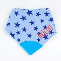 Bandana Mordedor Azul Personalizada +3m