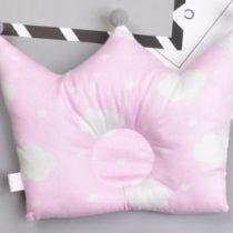 Almohada nubes rosa