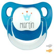 Baby Deco Personalizado azul Corona