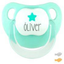 Baby Deco Personalizado Menta Estrella