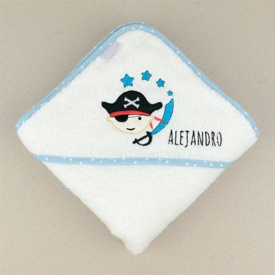 Capa de baño Pirata Personalizada