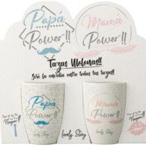 Pack tazas Mama y Papa Power