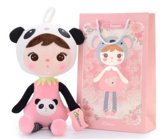 Muñeca Keppel panda