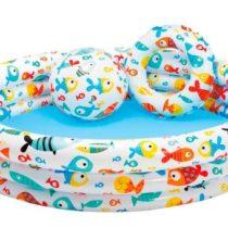 Set piscina, flotador y pelota