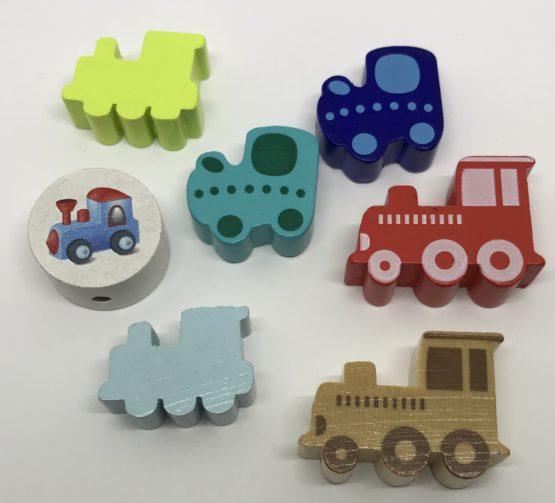 Tractor/tren madera 4 modelos a elegir