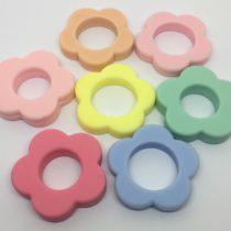 Flor hueca silicona sin perforaciones