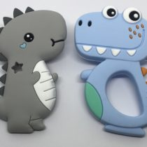 Dino baby y dino happy silicona