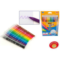 Pack 12 rotuladores colores Bic Kids
