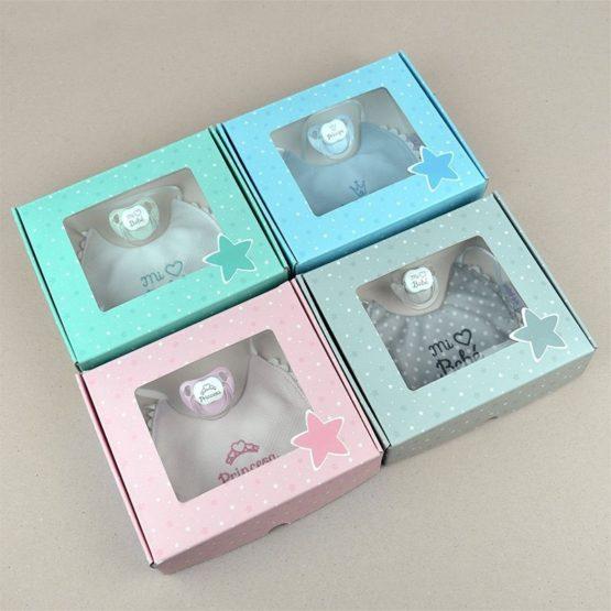 Cajita Baby babero (4 colores a elegir)