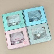 Cajita Set recién nacido (4 colores a elegir)