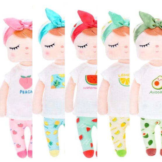 Muñeca Metoo Angela frutas (5 modelos diferentes)