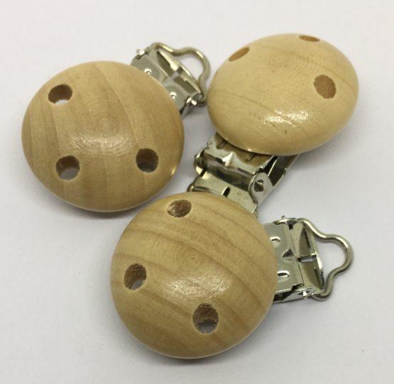 Clip redondo madera 30MM