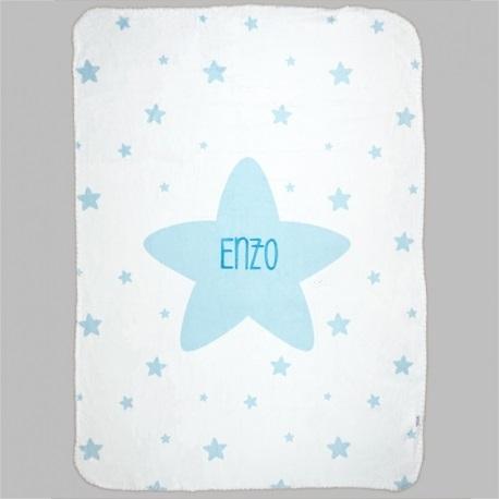 Arrullo Estrellas Personalizado tacto terciopelo (2 colores a elegir)