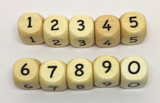 Letra madera premium (Números)