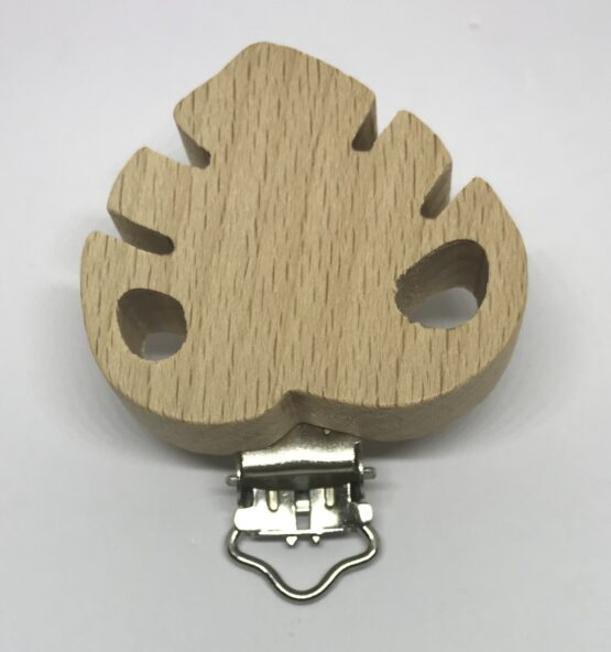 Clip hoja madera sin lacar