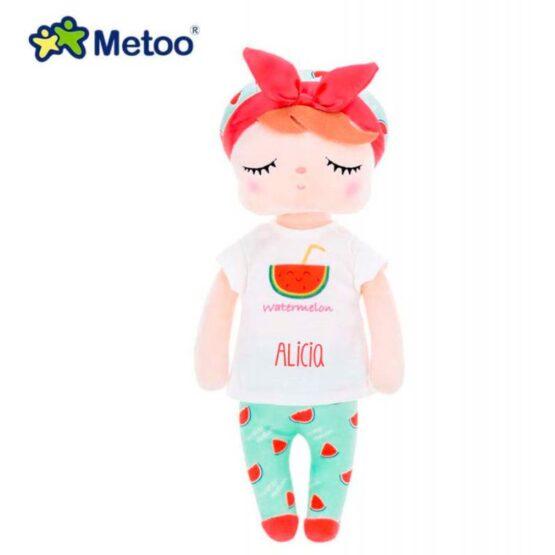Muñeca Metoo Angela Sandía personalizada