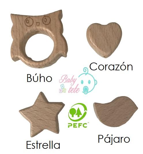 Figura de madera sin lacar